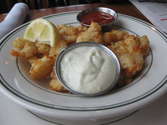 Sam's Chowder House in Half Moon Bay - Popcorn Shrimp