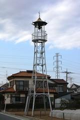 中台の火の見櫓(川越市)