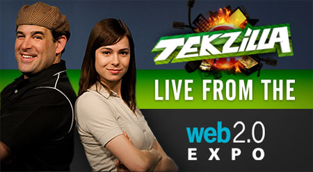 Tekzilla LIVE at Web 2.0 Expo