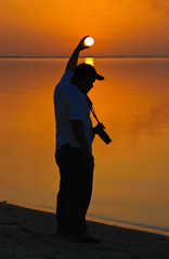 holding the sun (mhels_13) Tags: ocean sunset sea seascape nature silhouette yellow composition seaside interestingness photographer waterfront philippines kuwait goldensunset holdingthesun flickrsbest pinoykodakero pindotpinoy mhels13