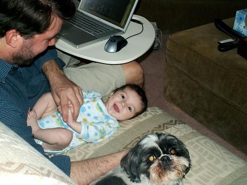 Finny, Daddy, LIbby