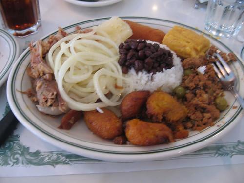 Cuban tasting plate