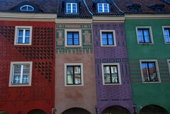 Colourful life (unlimited inspirations) Tags: world city travel houses windows roof red sky brown colour green art history love beautiful beauty wall architecture buildings reflections painting fun design europe purple angle interior famous creative best colourful unforgettable soe attractions oldmarketsquare pozna poznan polland platinumheartaward saariysqualitypictures