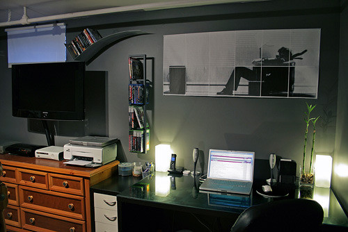 IMac Home Office Setup By NycGRAEME
