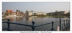 Humboldt-Bibliothek (Kinoformat-Panorama) (sualk61) Tags: lake berlin germany deutschland see humboldt capital hauptstadt bibliothek canon5d hafen seen canonef1740mmf4lusm tegel 1235 reinickendorf canoneos5d eos5d 9b tegelersee berlintegel sualk61 berlinreise humboldtbibliothek kinoformat flachwasserbecken tegelerhafen