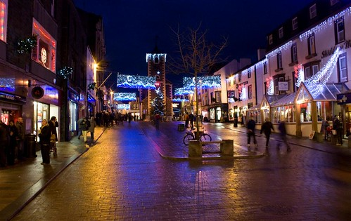 Keswick at night