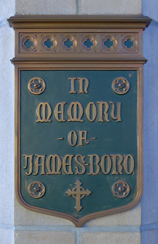 Former Daughters of Charity chapel, at the University of Missouri - Saint Louis, in Normandy, Missouri, USA - memorial plaque