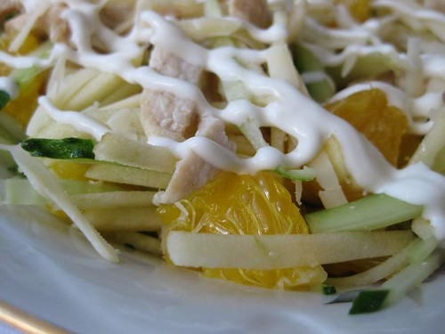 Фото салат с апельсинами