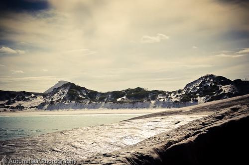 White Sandy Beach at Thistle Cove