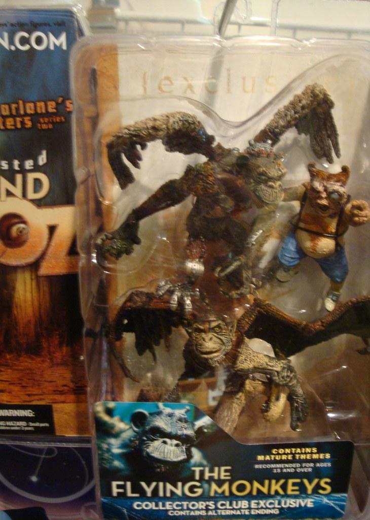 Twisted Land of Oz McFarlane Monos voladores
