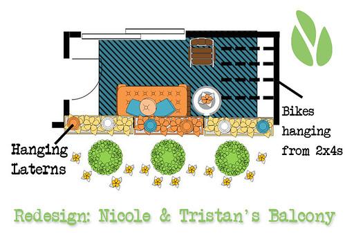 Balcony redesign