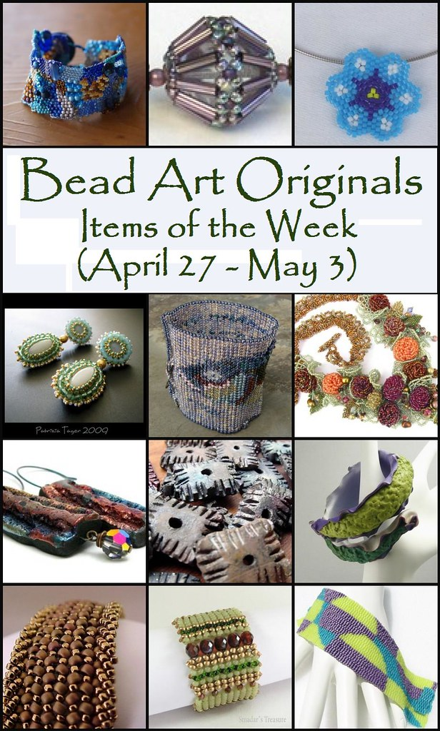 Bead Art Originals Items of the Week (4/27 - 5/3)