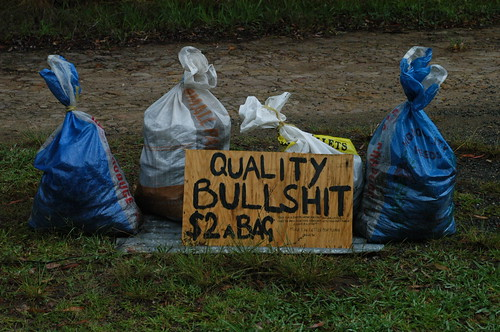 Quality Bullshit by Doug Beckers, on Flickr