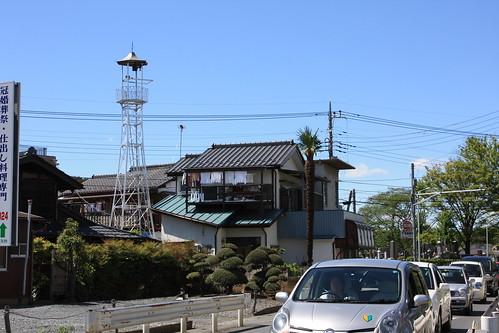 笠幡の火の見櫓