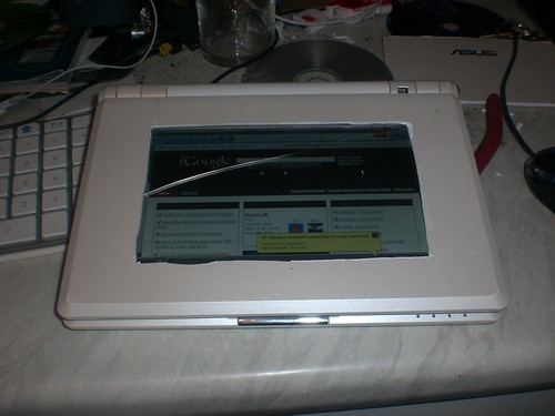 ASUS Eee PC 701, Touchscreen, Hack