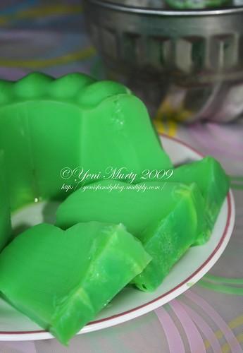 Pudding pandan kelapa muda 1