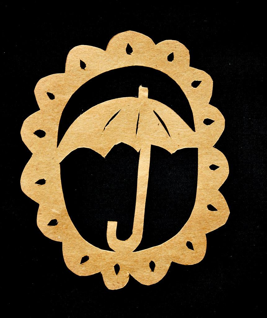 papercutting umbrella