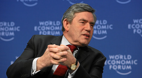 Gordon Brown copyright World Economic Forum