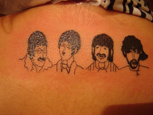 beatles tattoo. Beatles Tattoo: BEATLES BY