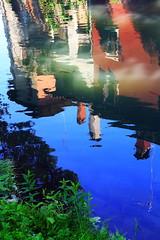 Reflections in the river (Alessandra47 D.G.) Tags: reflections river italia fiume reflexions riflessi veneto portogruaro blueribbonwinner otw lemene mywinners colorphotoaward colourartaward platinumheartaward flickrestrellas alessandra47 canoneos1000d flickraward superstarthebest