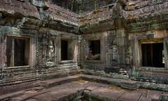 Cambodia - Banteay Kdei Temple - Man