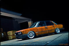 Resurrection (Mike Burroughs) Tags: rat rust 5 bmw rod rs bbs slammed bimmer dumped 5er e28 535i hoodride