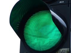 groen stoplicht Delft Asvest