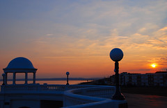 As the Sun Goes Down on Bexhill-on-Sea.... (antonychammond) Tags: uk sunset england britain picturesque eastsussex bexhillonsea delawarrpavilion bej abigfave citrit estremit concordians simplysuperb skyascanvas