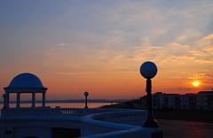 As the Sun Goes Down on Bexhill-on-Sea.... (antonychammond) Tags: uk sunset england britain picturesque eastsussex bexhillonsea delawarrpavilion bej abigfave citrit estremit concordians simplysuperb skyascanvas
