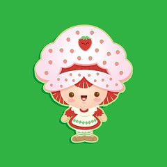 Kawaii Strawberry Shortcake