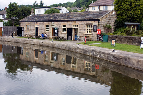form the town centre. Bingley