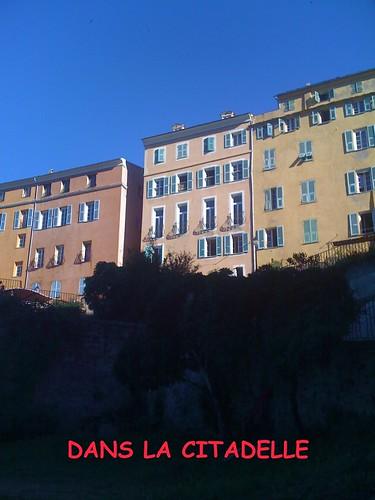 Immeubles dans la citadelle de Bastia