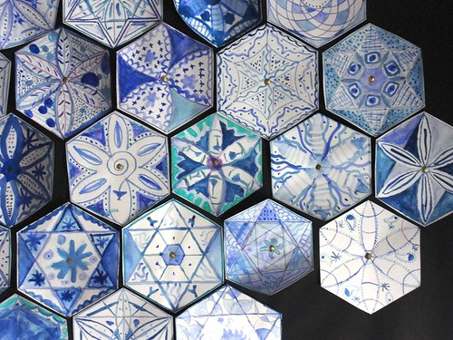 Delft Tiles with an Islamic Twist