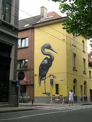 Ghent street art - Roa (_Kriebel_) Tags: street art graffiti belgium belgique belgi ghent gent gand roa kriebel roabot