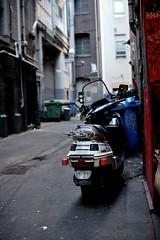 Honda Scooter (djintegr8) Tags: honda nikon july melbourne scooter 2009 centreplace d40 sigma30mmf14hsm