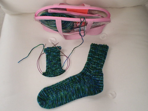Cucmber Socks 7.29.09