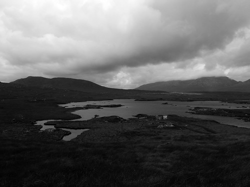 Across a vast Connemara plain