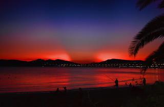 the sun sets at anavyssos:  213/365