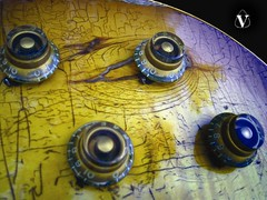 Vintage Gibson 1959 Les Paul Standard guitar knobs detail photo. (eric_ernest) Tags: musician music classic beautiful acdc vintage u2 google cool kiss guitar sale band amp guitars blues columbia queen muse musical metallica instrument 1958 acoustic michaeljackson amplifier bassguitar iconic rare amps ledzeppelin recording aerosmith theeagles 59 americanidol 1959 thebeatles therollingstones vanhalen taylorguitar zztop amplifiers eminem facebook 1960 bonjovi 58 iphone acousticguitar guitaramp elvispresley acefrehley gibsonguitar guitarcenter jonasbrothers hootietheblowfish electricguitars acousticguitars vintageguitar twitter gibsonguitars fenderguitars guitar vintageguitars 1959gibsonlespaul sarahpalin customguitar rareguitar guitarphotos guitarsinstruments rareguitars 1959lespaul