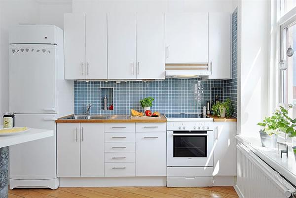 Apartment White Interior Design