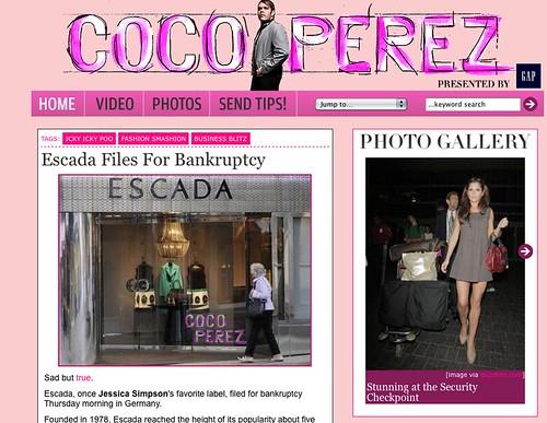 Perez Hilton's new website