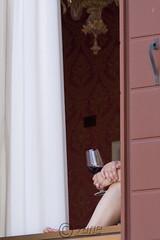 Red wine (zane) Tags: street venice window water wine finestra venezia glas vino 30d