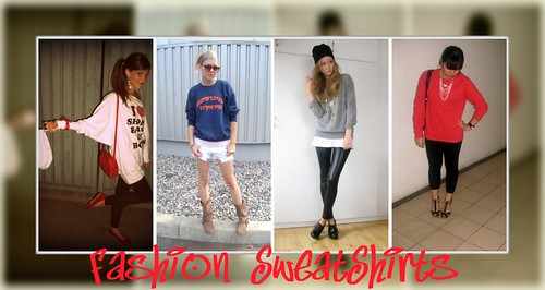 fashion sweatshirts