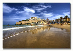 """Peiscola"" (Pepelahuerta) Tags: paisajes playas castellon castillos peiscola canon1022mm canon40d homersiliad lamanoamiga alemdagqualityonlyclub oltusfotos pepelahuerta"