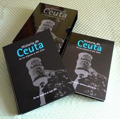 HISTORIA DE CEUTA (PORTADAS)