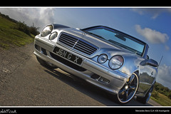 Mercedes Benz CLK 430 Avantgarde Front Quarter Angled Low Shot (NWVT.co.uk) Tags: new blue sky sun 3 k wheel clouds forest silver project mercedes benz photographer shot c low 4 wheels sunny automotive front professional kahn l quarter alloys angled alloy freelance 430 avantgarde gunmetal clk nwvtcouk nwvt