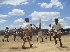 Playtime (Nakuru Childrens Project) Tags: charity school kids zoe children happy workers rebecca kenya african volunteers help changing worlds annie projects primary nakuru kiti donate swahili siddall kelland mawanga blankestein