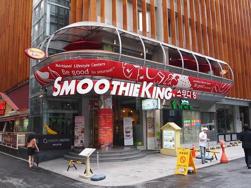 SMOOTHIE KING 韓国