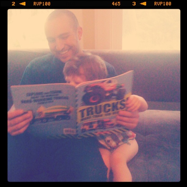 Truck book & uncle max -- what could be better?