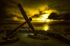 Anchor (Jyrki Salmi) Tags: light sunset nikon dramatic anchor jyrki d600 salmi ankkuri katariinanniemi mygearandme mygearandmepremium